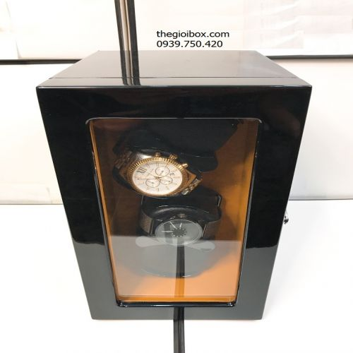 Tủ Lắc Đựng Đồng Hồ Cơ 4 Xoay - Có Pin - Mã TU4X0