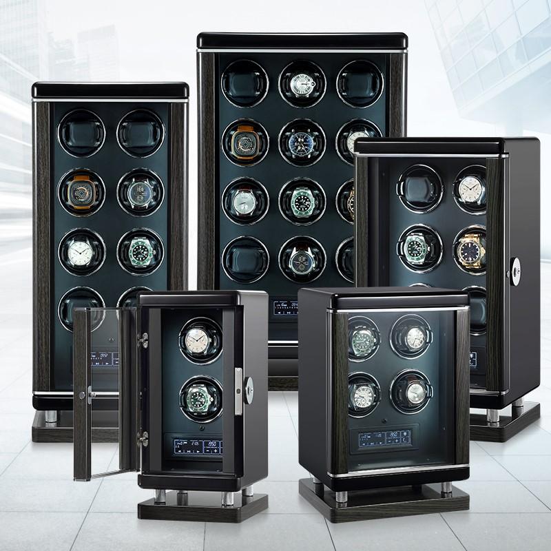 tủ lắc đồng hồ cơ tự xoay 2 ngăn - 4 ngăn - 6 ngăn - 12 ngăn