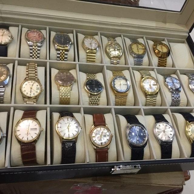Hộp đựng đồng hồ 24 chiếc vỏ da cao cấp giá rẻ tphcm