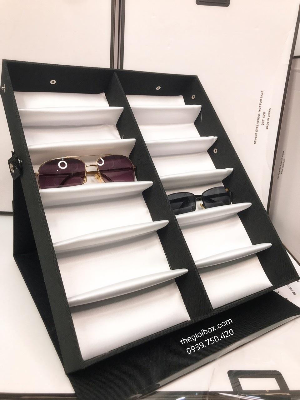 Khay đựng mắt kính 12 chiếc cao cấp, giá rẻ tphcm