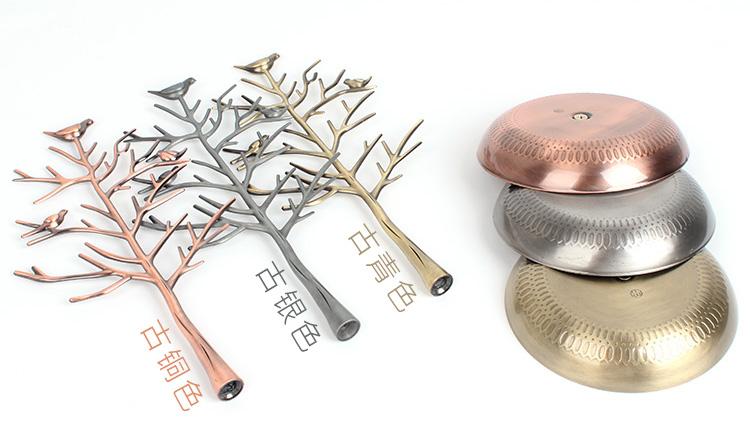 giá kệ thân cây treo phụ kiện trang sức khuyên tai dây chuyền