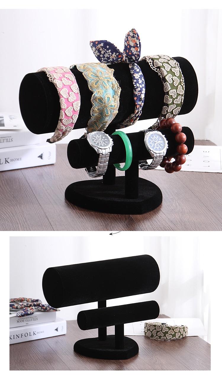 kệ giá treo trưng bày bờm tóc, băng đô, vòng tay 2 tầng giá rẻ