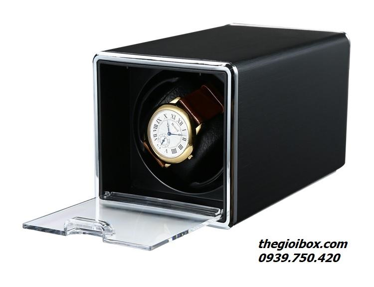 hộp xoay đựng đồng hồ cơ lắc tự động quay tphcm