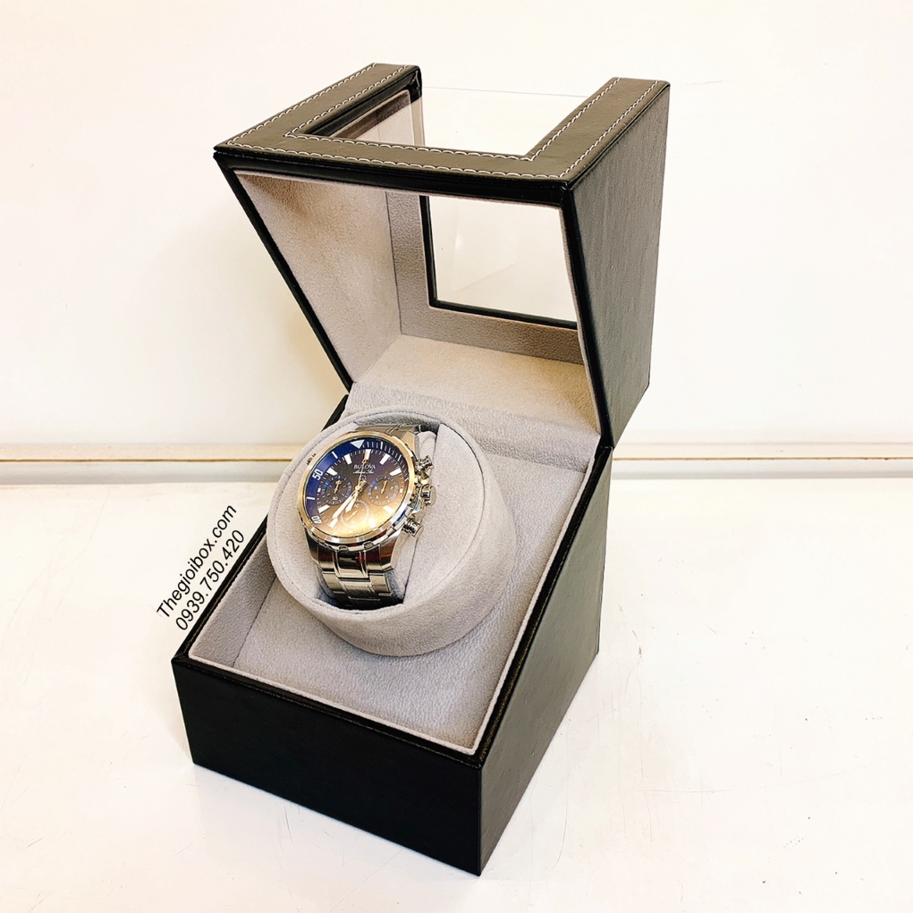 đế hộp xoay lắc tích cót đồng hồ cơ 1 ngăn xoay giá rẻ