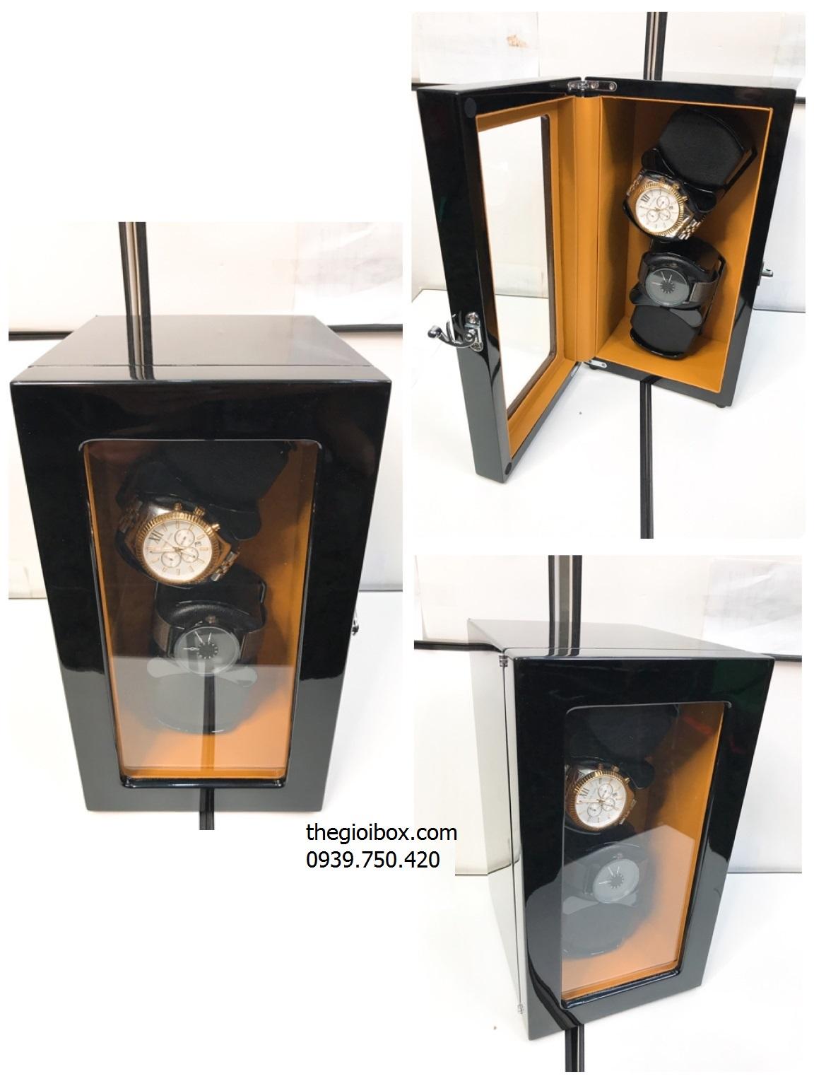 tủ đựng đồng hồ 4 ngăn xoay cao cấp giá rẻ tại tphcm